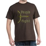 People Wanna Fight Bow Arrow T-Shirt
