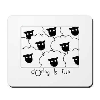 Dolly the Sheep Mousepad | Gifts For A Geek | Geek T-Shirts