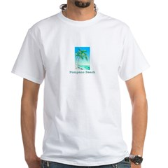 Pompano Beach, Florida White T-Shirt