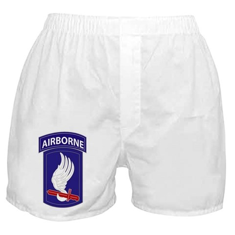 173rd AIRBORNE  Military Boxer Shorts by CafePress