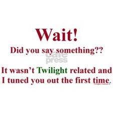 Did You Say Something (Twilight) Mug