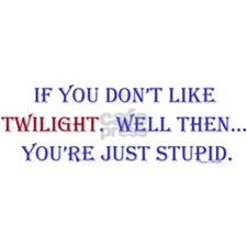 TwilightStupid Rectangle Magnet