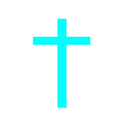 Teal Cross Gazebogifts
