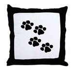Animal Paw Prints Pillows and Decorations