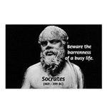 Socrates: Wisdom from Leisure Postcards (Package o