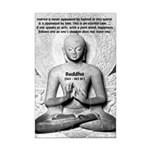 Buddhism Philosophy of Love Mini Poster Print