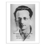 Erwin Schrodinger: Truth Small Poster