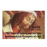 Euclid: Math and Philosophy Postcards