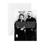 Humanity Marie Curie Greeting Cards (Package of 6)