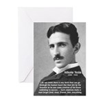 Nikola Tesla Greeting Cards (Package of 6)