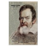 Error of Conformity Galileo Large Poster