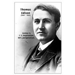 Thomas Edison: Genius Large Poster