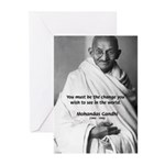 Loyalty to Cause: Gandhi Greeting Cards (Package o