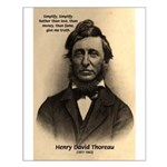 Henry David Thoreau Small Poster
