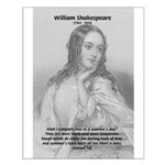 Shakespeare: Beauty of Juliet Small Poster