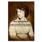 Mary Wollstonecraft Big Poster Print. Philosophy, Science, Art, Music, Nature, Political, Propaganda, War Posters with Pictures & Quotes