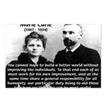 Marie Curie Better World Postcards