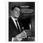 President Ronald Reagan Small Poster