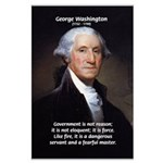 Politics: George Washington Large Poster