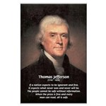 Media Thomas Jefferson Large Poster