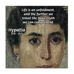 Wisdom of Greece: Hypatia Tile Coaster