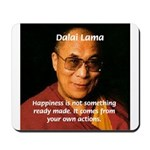 The Dalai Lama Mousepad