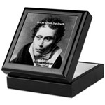 Schopenhauer Philosophy Truth Tile Box