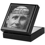 Philosopher: Alfred Whitehead Tile Box