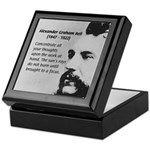 Alexander Graham Bell Tile Box