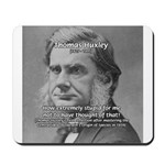 Thomas Huxley and Darwin Mousepad