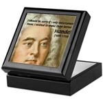 Handel's Messiah Tile Box