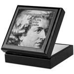 Music, Genius and Mozart Tile Box