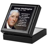Politics: George Washington Tile Box