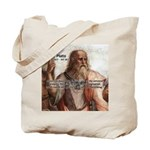 Music and Plato Tote Bag