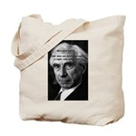 Bertrand Russell Tote Bag