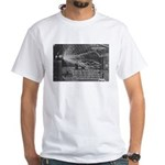 Alternating Current: Tesla White T-Shirt
