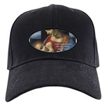 Woman and Child: Da Vinci Black Cap