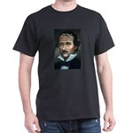American Romantic Poets Edgar Black T-Shirt
