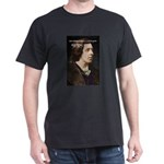 Playwright Oscar Wilde Black T-Shirt