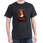 Spinoza Ethics Philosophy Black T-Shirt