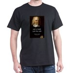 Thomas Hobbes Truth Black T-Shirt