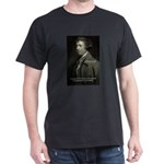 Edmund Burke: Good & Evil Black T-Shirt
