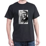 Thomas Edison Inspiration Black T-Shirt